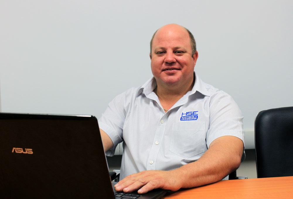 HSE Electrical team, Jason Sayeg, Toowoomba