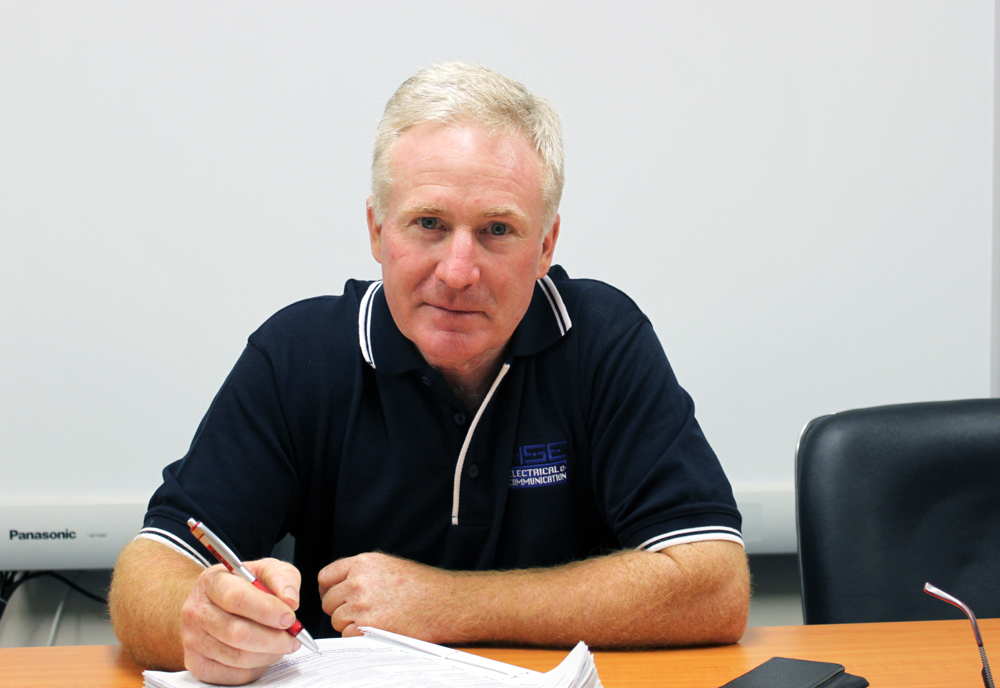 HSE Electrical, Tony Smith, Toowoomba team